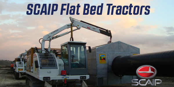 Flat Bed Tractor